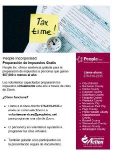 Free Tax Prep 2021 - Spanish