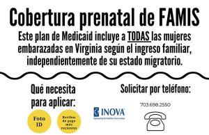 FAMIS Prenatal PHC Half Sheet-Spanish