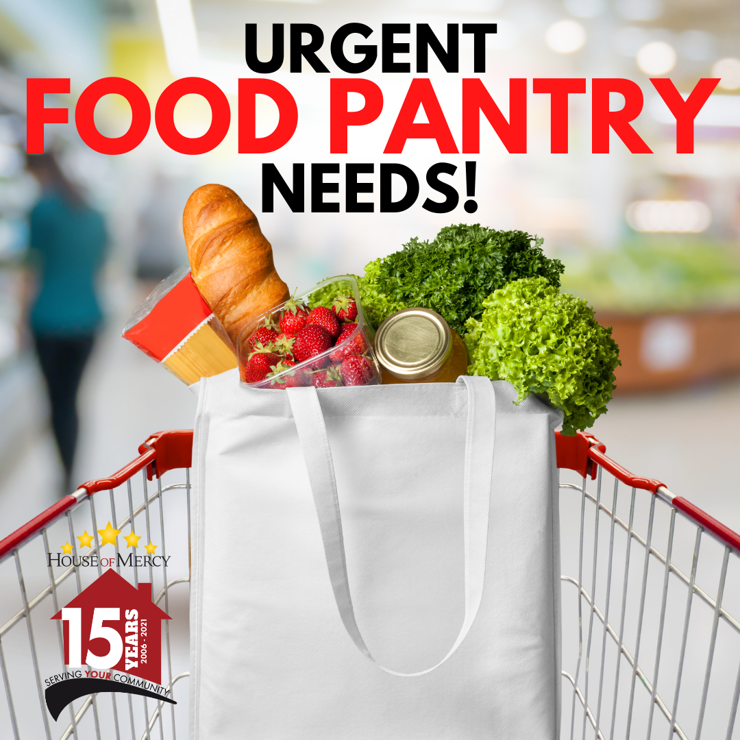Food Pantry Needs for the Week of 9/1/21