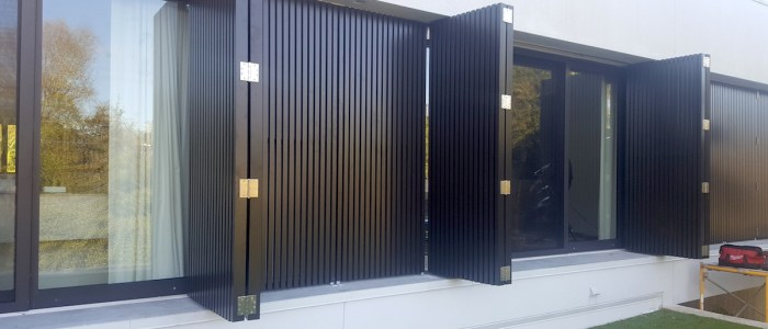 Seamless Shutters Installed
