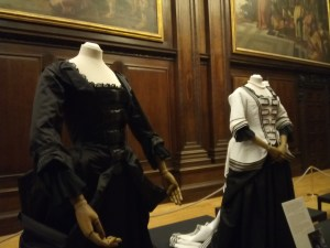 Black and White Costumes in the Favourite