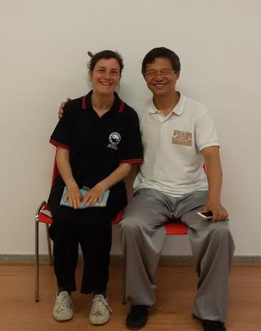 With Grandmaster Liming Yue