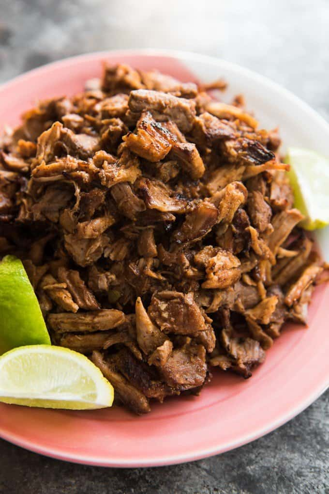 Crispy Mexican Slow Cooker Pork Carnitas with Escabeche ...