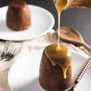 Sticky Toffee Pudding with Butterscotch-Toffee Sauce