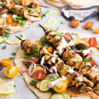 Grilled Chicken Shawarma Wraps