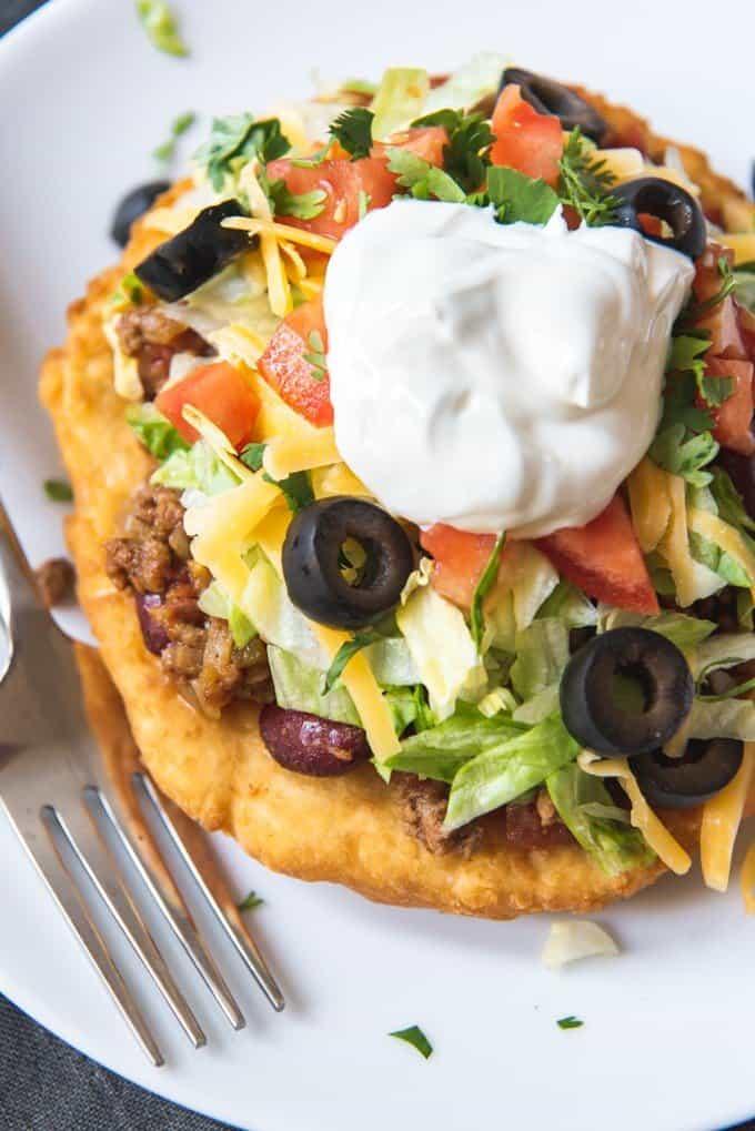 Navajo Tacos Indian Fry Bread House Of Nash Eats