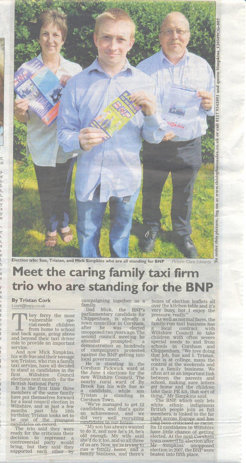 Western Daily Press, BNP family