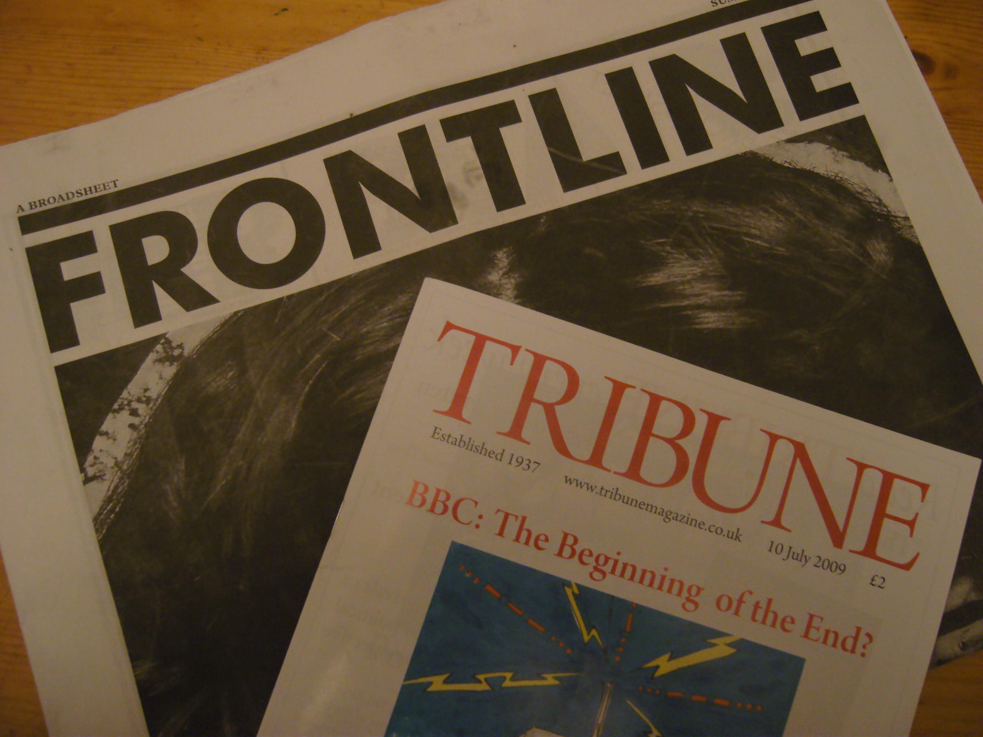 Frontline and Tribune