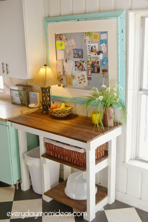 diy kitchen counter project