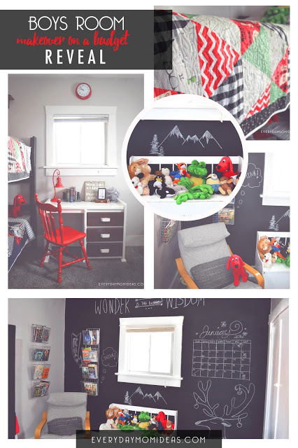 kids room budget make-over