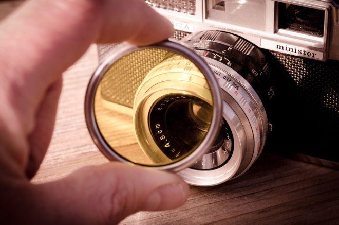 vintage yashica rangefinder camera