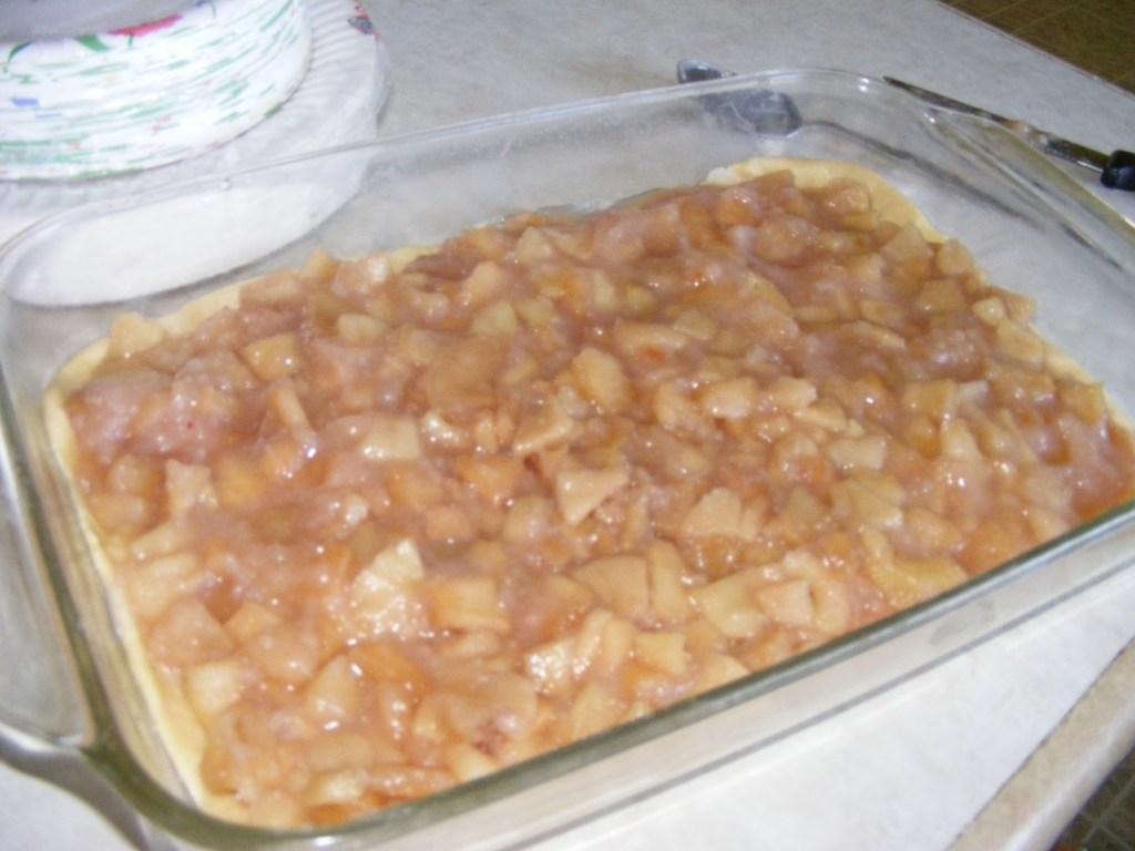 apple pie bar crust