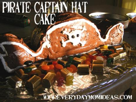 pirate hat cake