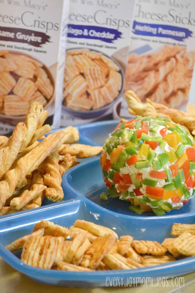 Festive Peppers Cheese Ball