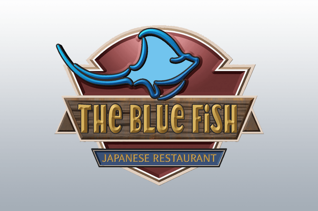 The Blue Fish Logo