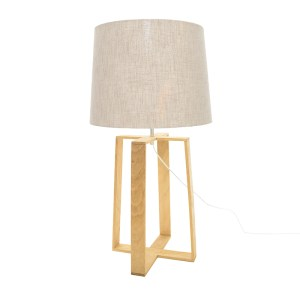 Rothschild Oak Table Lamp