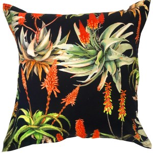 Black Aloe Cushion