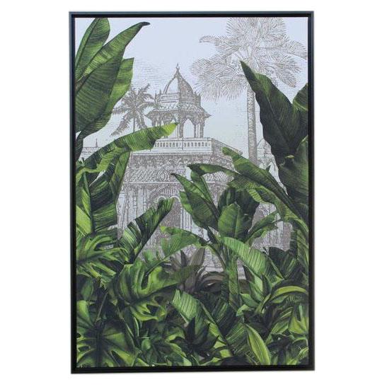 Banana Leaf Plantation Taj Framed picture