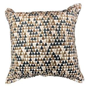 Velvet Triangle Cushion