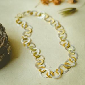 Silver & Gold Interlaced