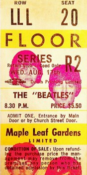 Beatles MLG Stub