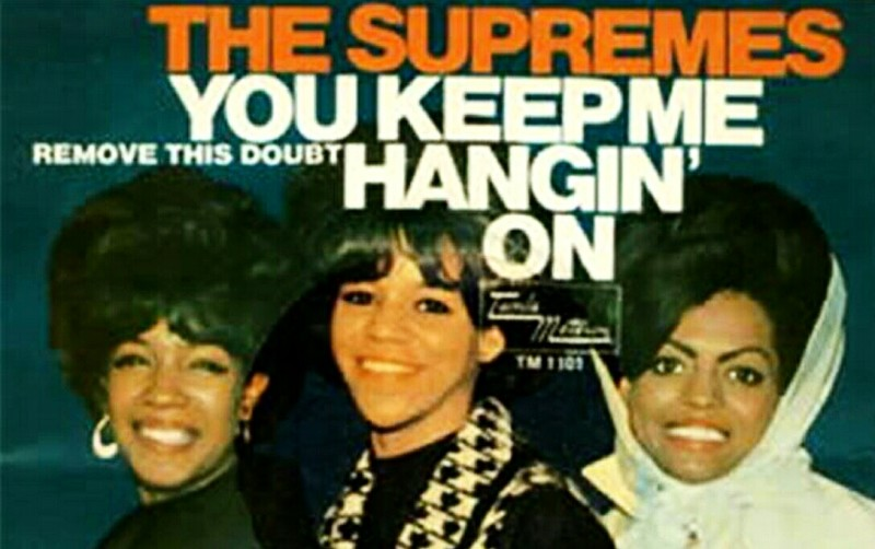 #OnThisDay… November 19, 1966 • THE SUPREMES: Hangin' On At #1 + the Vanilla Fudge Cover Version [Audio] /