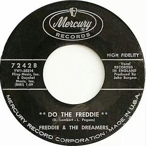Freddie&TheDreamers:45:DoTheFreddie:Label
