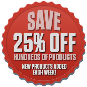 Shop our 25% Off Sale--New sale items added daily