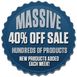 Shop our 40% Off Sale--New sale items added daily