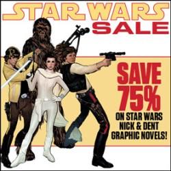 Save 75% on Star Wars N&D graphic novels at TFAW.com