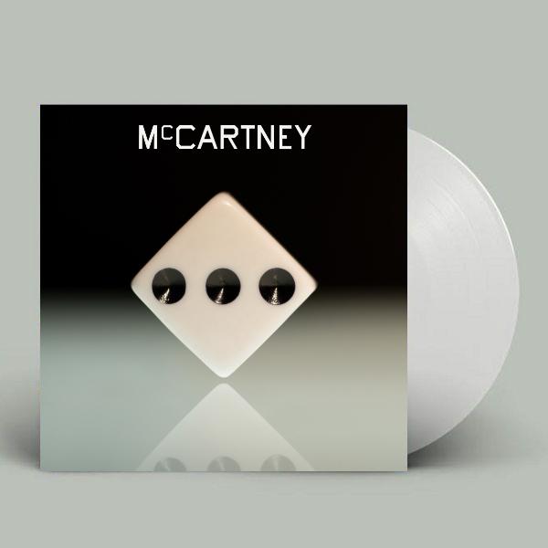 McCartney III - The New Studio Album White Vinyl