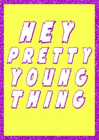 Hey PYT Greetings Card