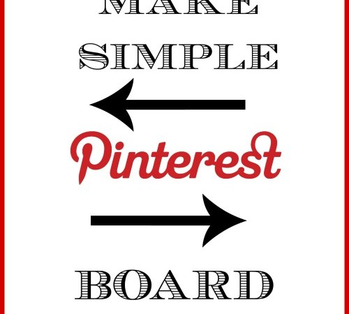 Make Your Own Pinterest Board Covers