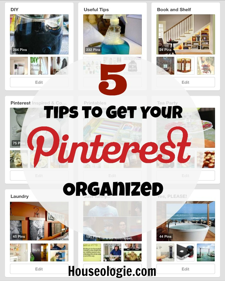 Organize Your Pinterest Boards