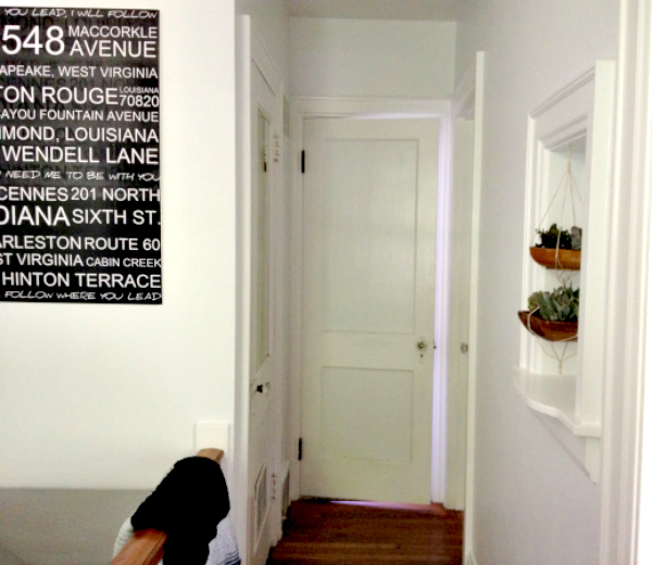 Hallway Makeover Reveal 9