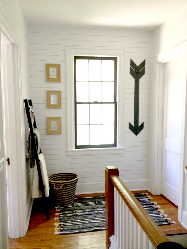 Hallway Makeover Reveal