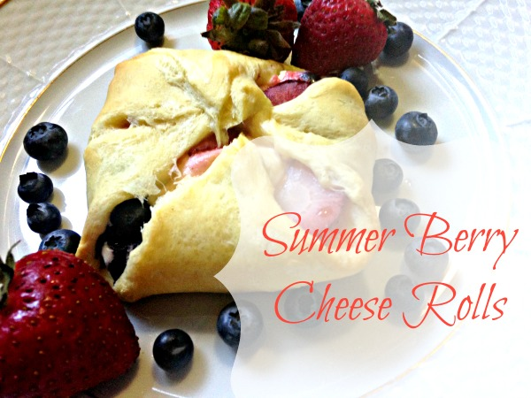 Summer Berry Cheese Rolls Pin