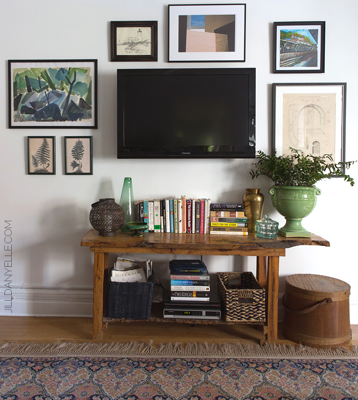 TV Gallery Wall Inspiration | Houseologie