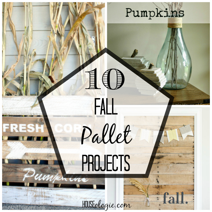 10 Fall Pallet Projects
