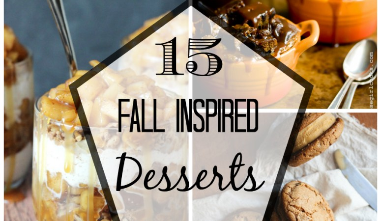 Friday Fall Finds – 15 Fall Inspired Desserts