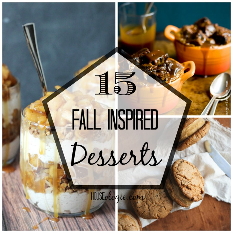 15 Fall Inspired Desserts