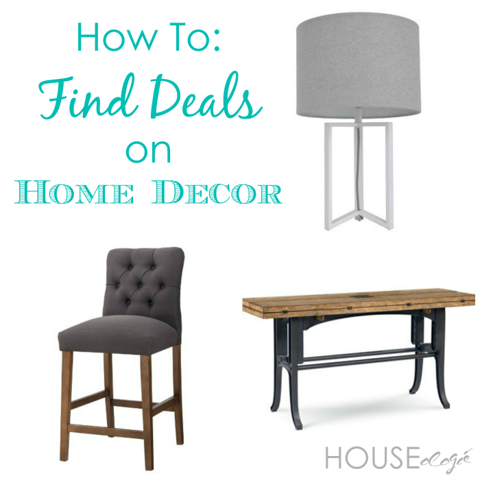 How To Find Deals On Home Decor