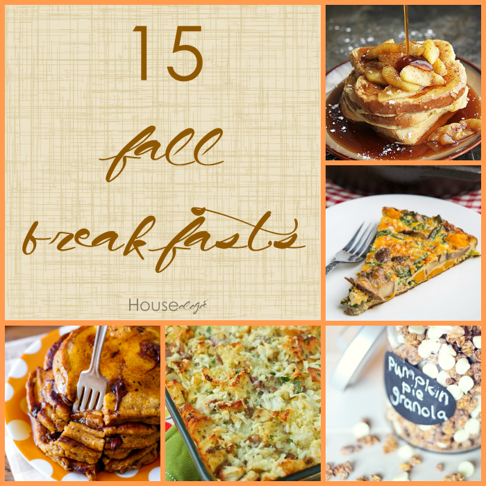 15 Fall Breakfasts
