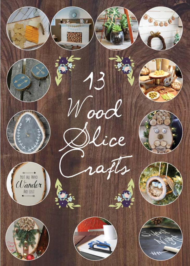 13 Wood Slice Projects