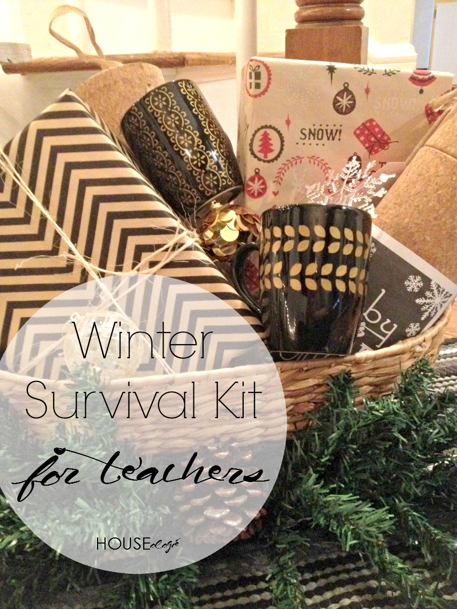 DIY Teacher Gift - Winter Survival Kit