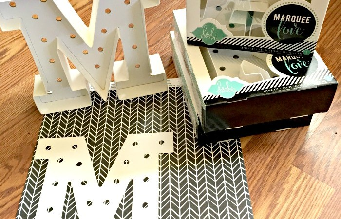 DIY Marquee Letters (I Cheated!!)