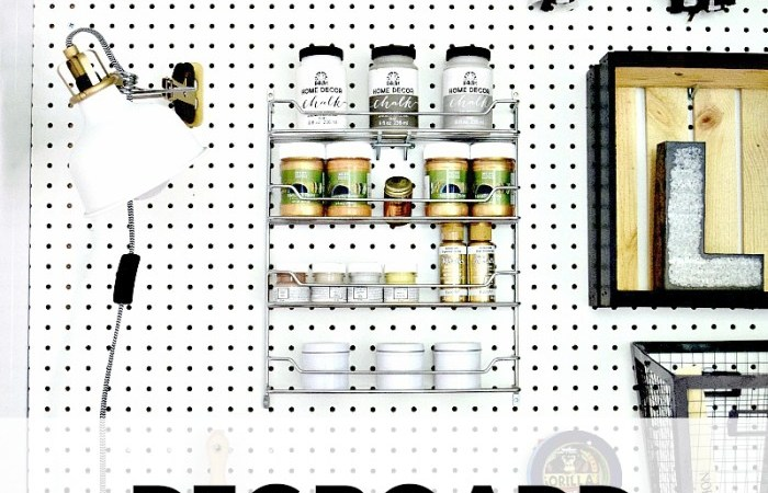 Monthly DIY Challenge – Pegboard