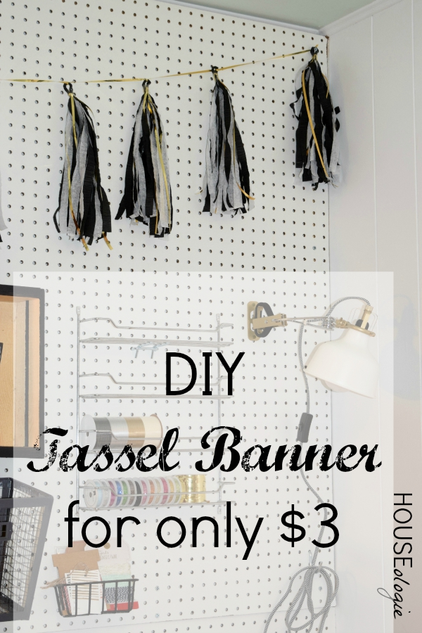 Craft Room Tassel Banner Pinterest