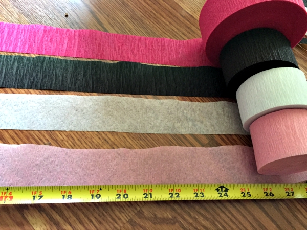 Measure Streamer for Tassel Banner
