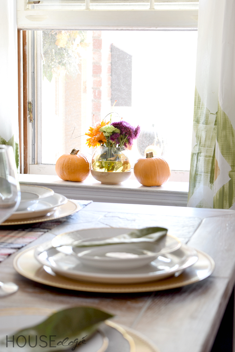 Fall Thanksgiving Table Decor